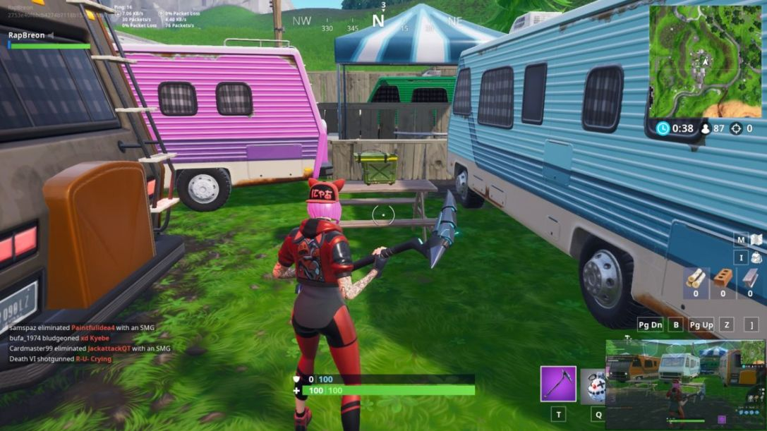 Fortnite RV Park ammo boxes