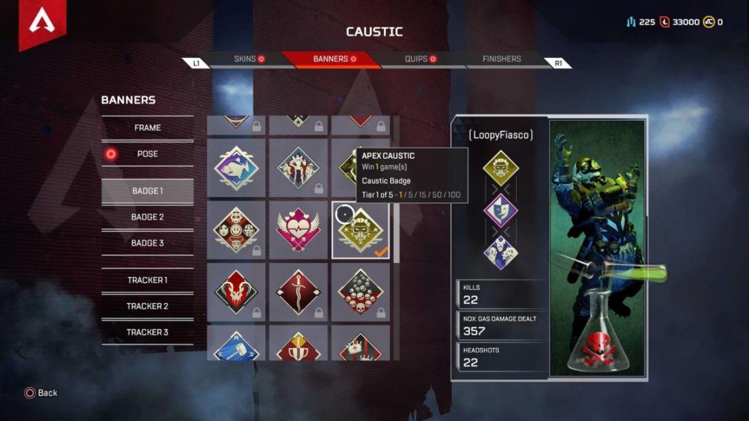 Apex Legends win badge