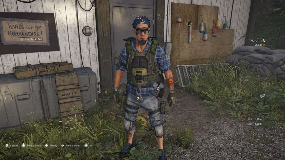 Making A Monster In The Division 2's Character Creator