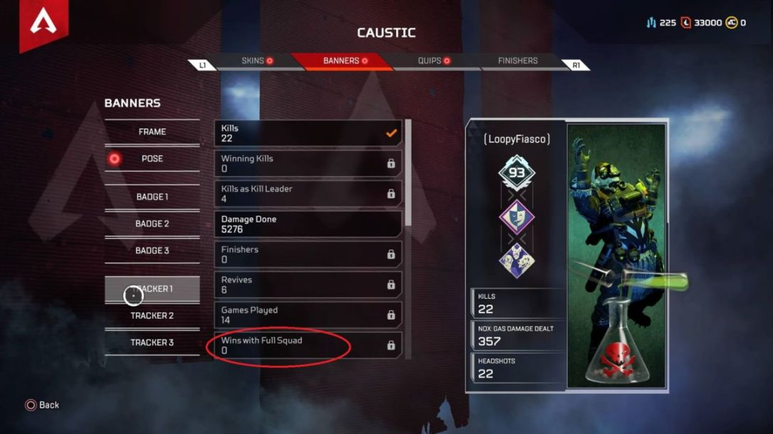 Apex Legends wins with full squad