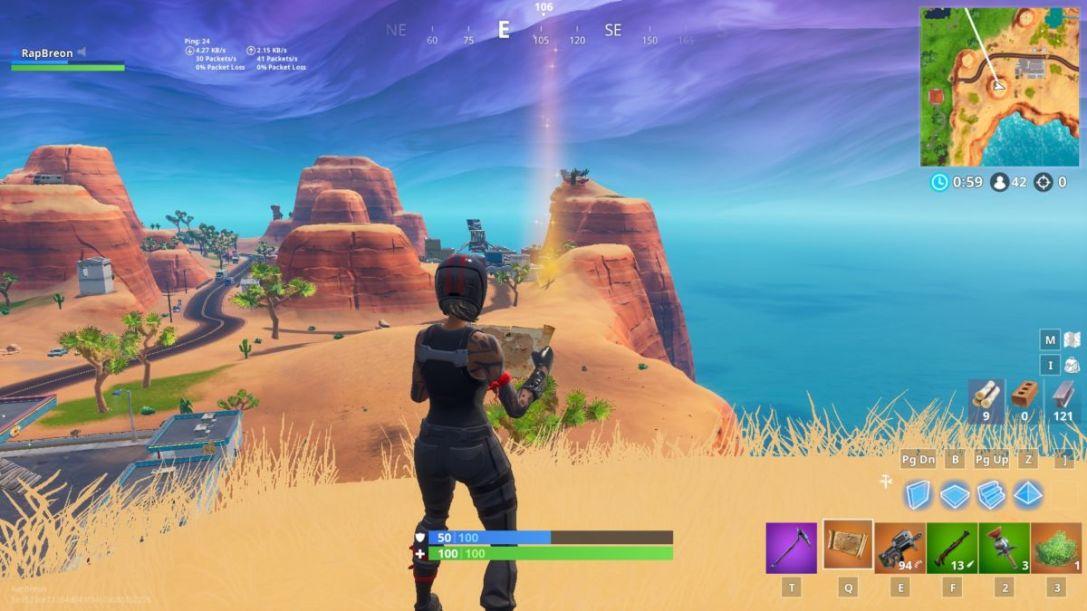 Fortnite Buried Treasure Challenge