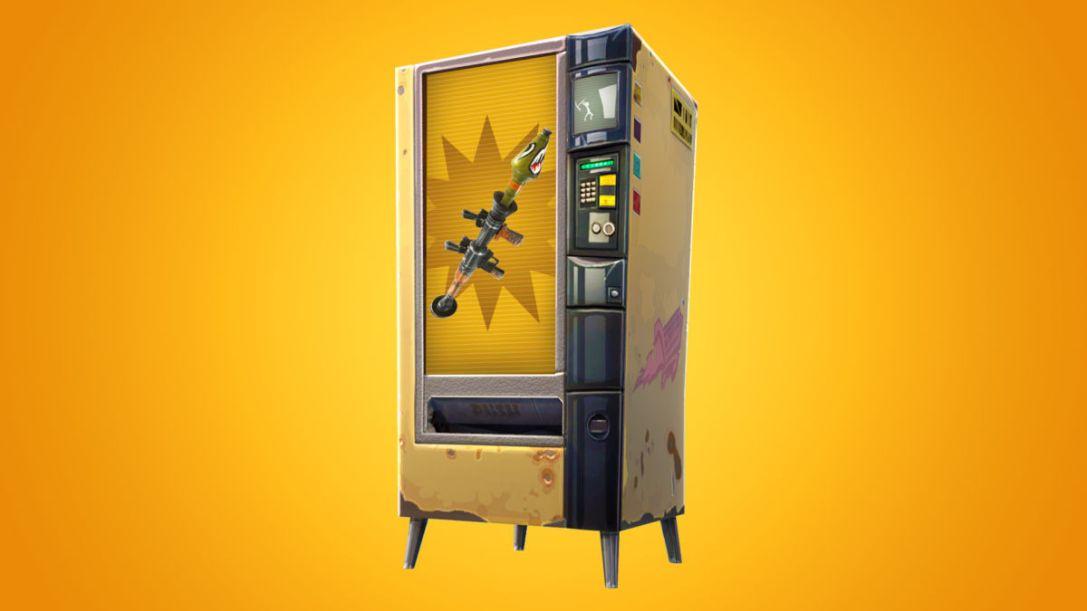 Fortnite vending machine