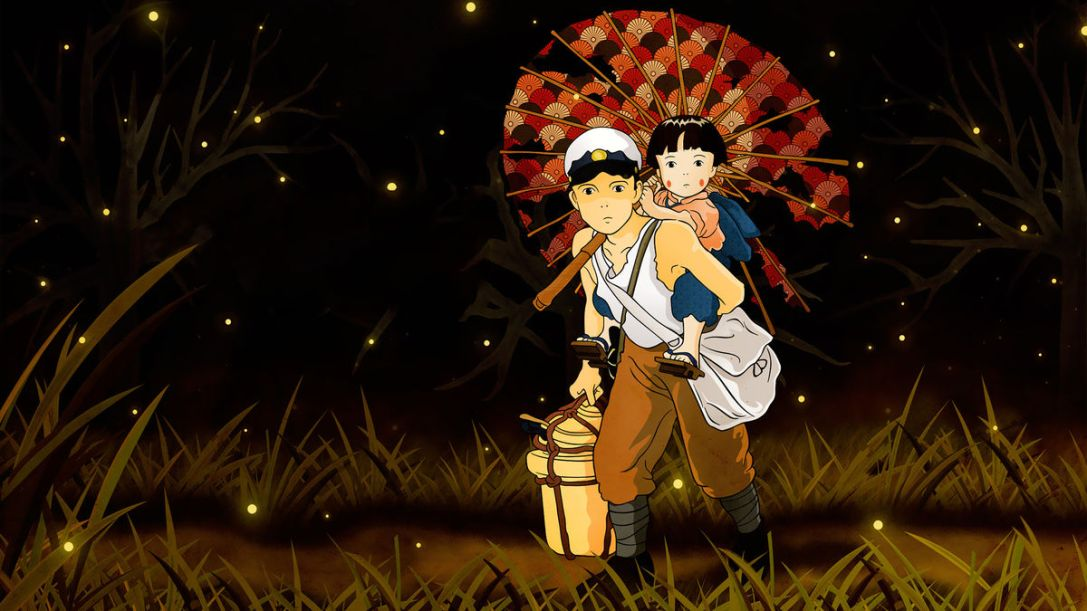 Grave of the Fireflies (1988) art