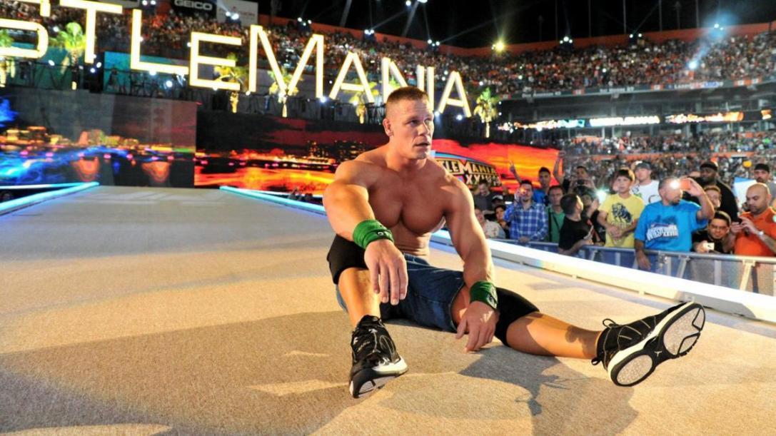 John Cena vs The Rock - WrestleMania 28