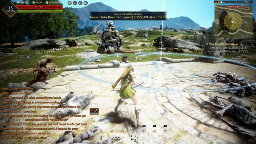 Black Desert (Xbox One) REVIEW - Pretty Yet Desolate