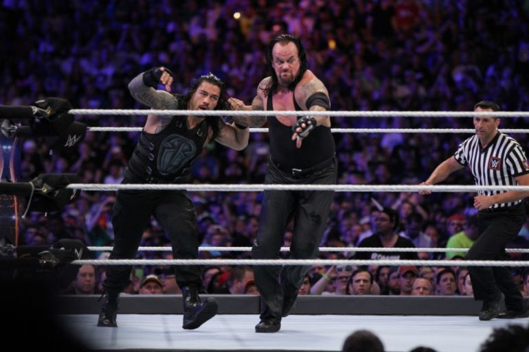 Roman Reigns vs. The Undertaker - WrestleMania 33
