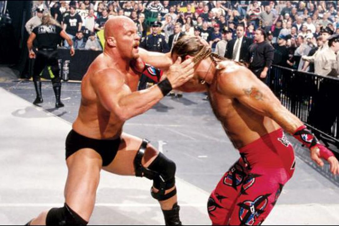 Shawn Michaels vs. Steve Austin - WrestleMania 14