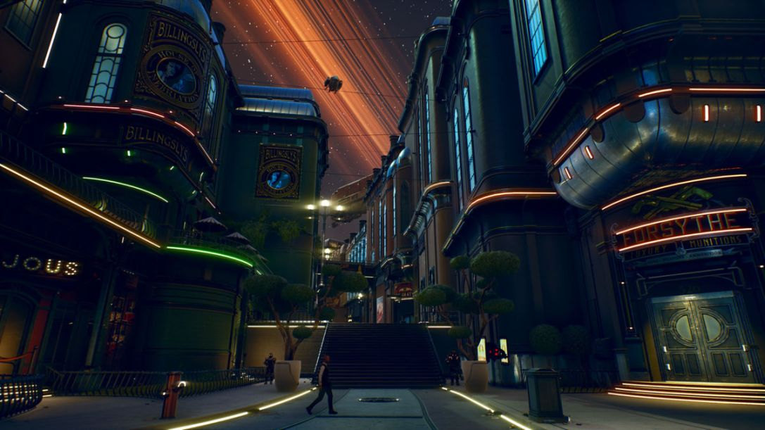 The Outer Worlds screens