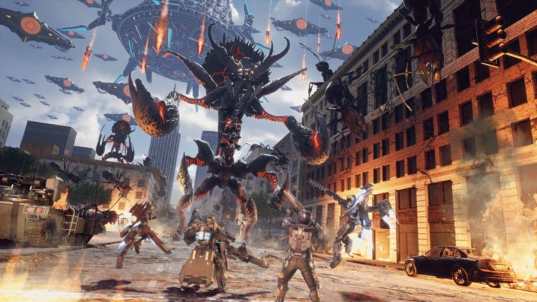 Image result for Earth Defense Force: Iron Rain