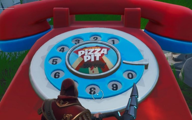 pizza pit number fortnite