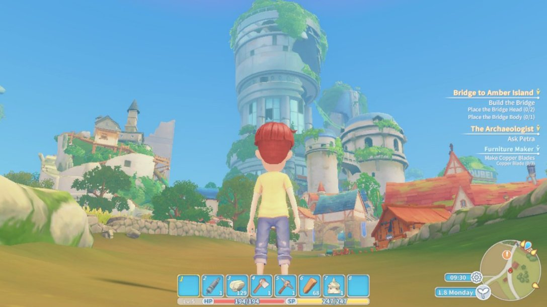 My Time At Portia (Switch) REVIEW - A Lovely Time | Cultured
