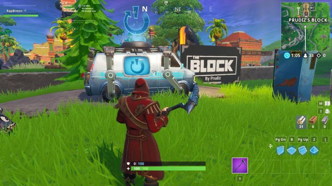 The Block Reboot Van