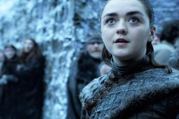 game of thrones winterfell maisie williams