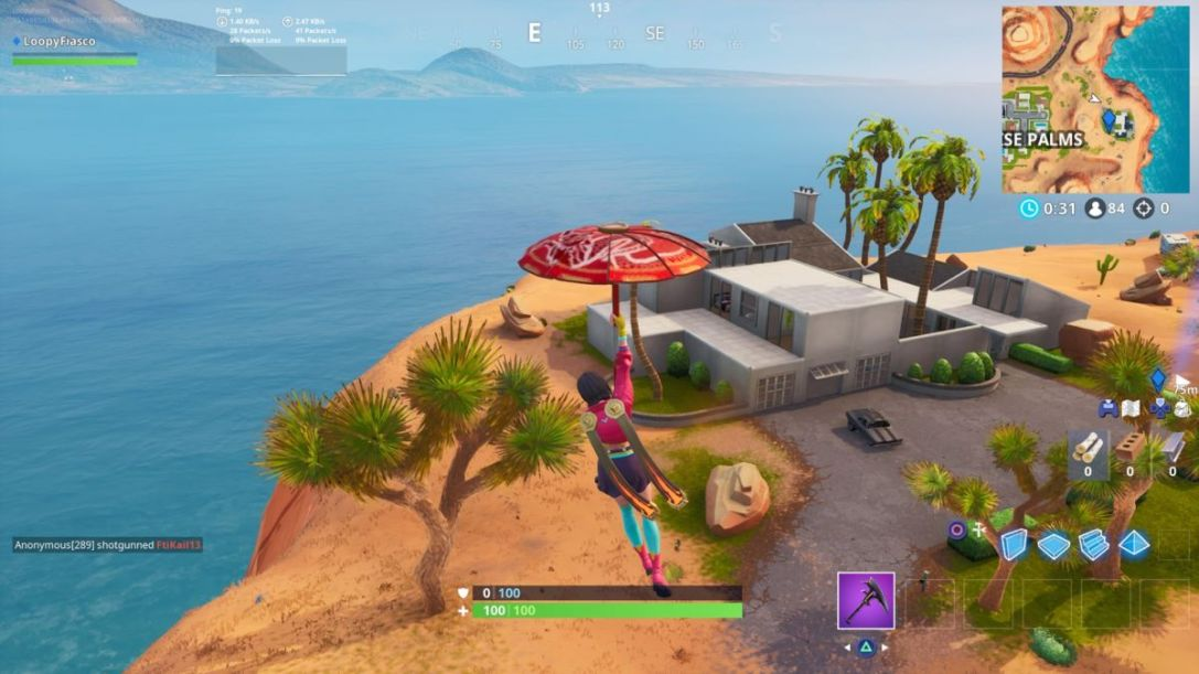 Fortnite John Wick house