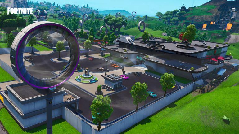 Fortnite Season 9 Mega Mall