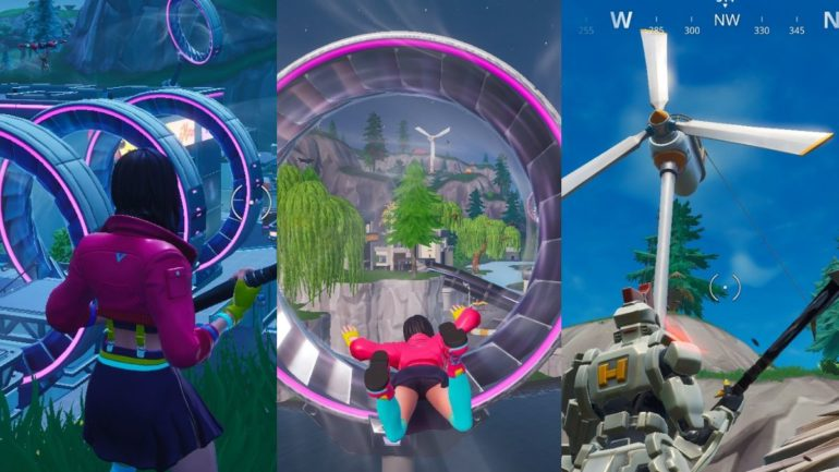 Fortnite Season 9 Changes Map Changes Slipstreams Blimps More