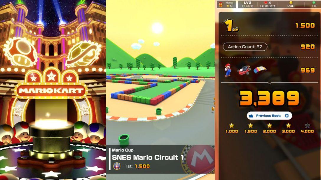 Super Mario kart tour 1