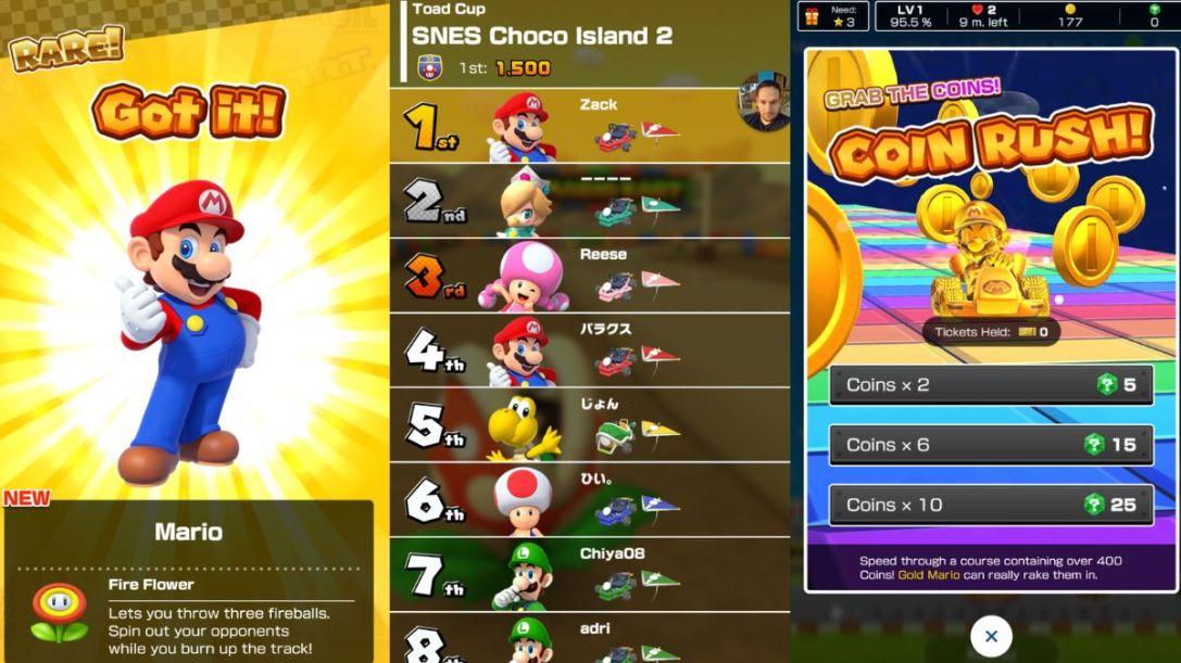 Super Mario kart tour 3