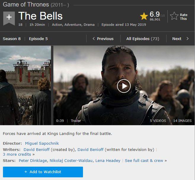 The Bells IMDb