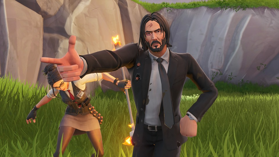 Epic Games Keanu Reeves Agreed To Official John Wick Skin Because He Was Sick Of Being Called The Fortnite Guy
