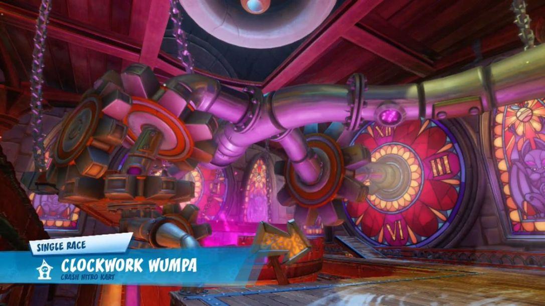 CTR - Clockwork Wumpa Title