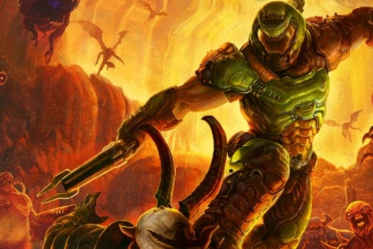 Here's The (Dope As Heck) DOOM Eternal Box Art | Cultured Vultures