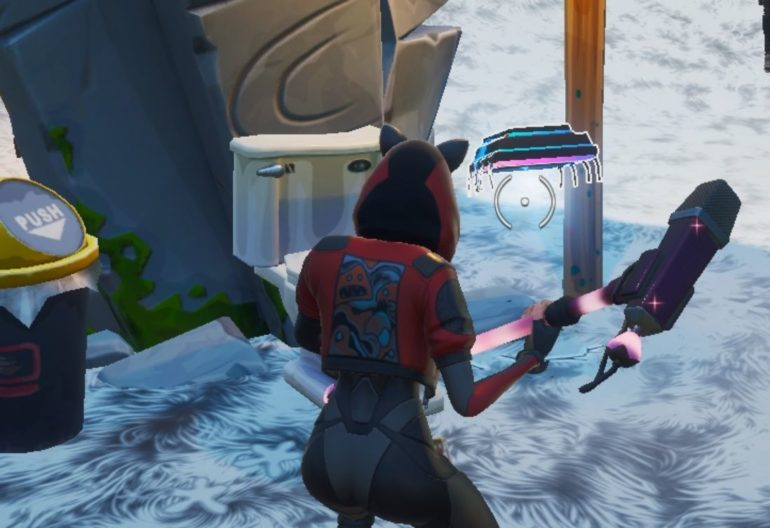Fortnite Season 9 Fortbyte #48: Accessible By Using The Vox Pickaxe