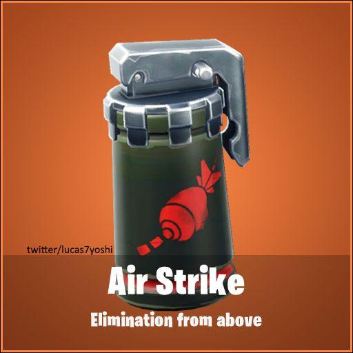 Fortnite Airstrike