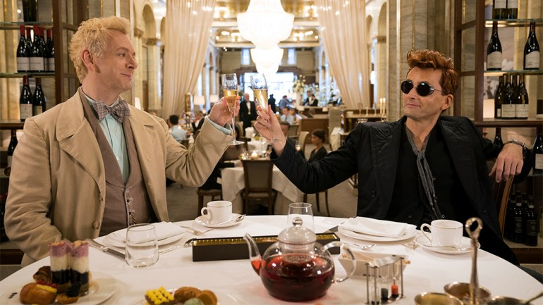 good omens michael sheen david tennant