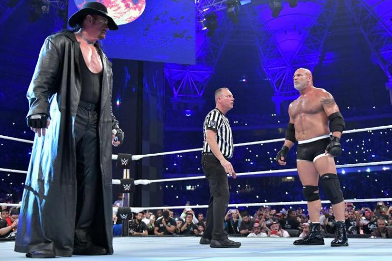 The Undertaker vs Goldberg
