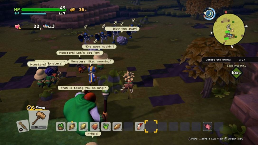 Dragon Quest Builders 2 Switch tips 1