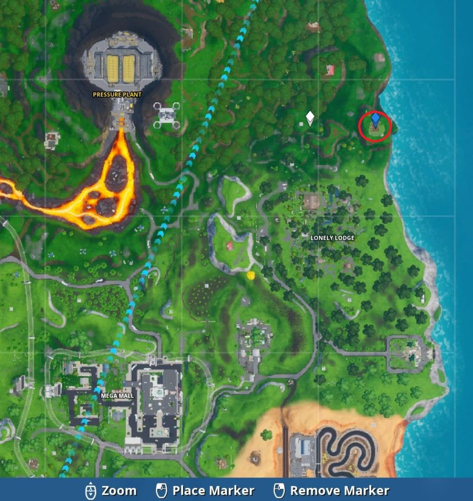 Fortbyte 83 Map close
