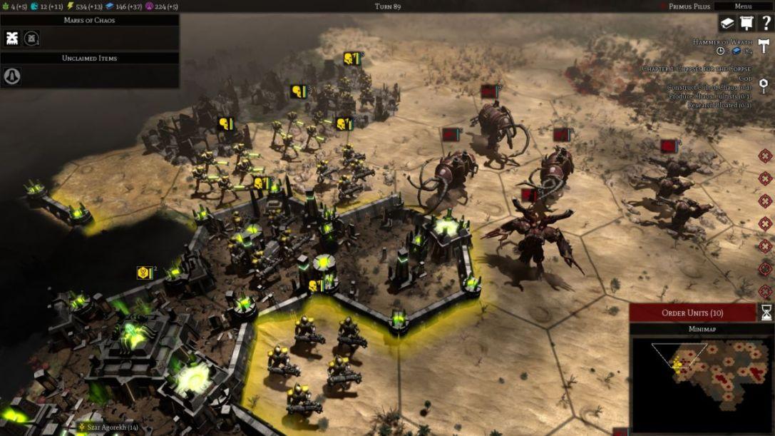 Warhammer 40000 Gladius Relics of War 1