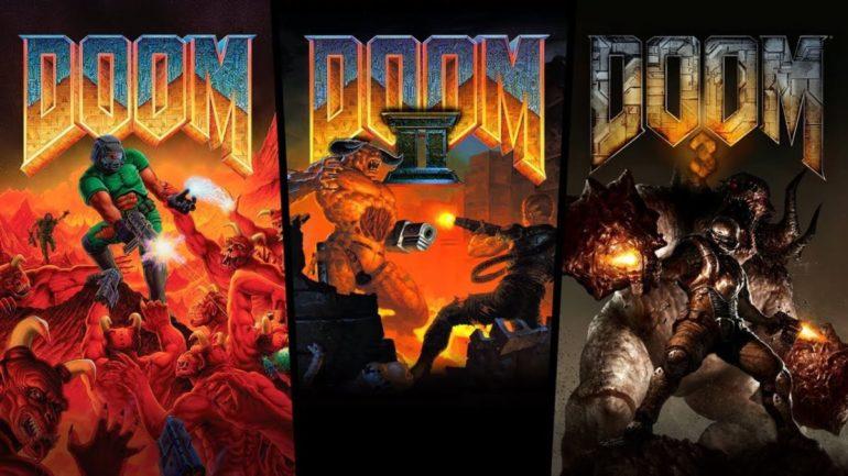 Image result for DOOM 1 PS4
