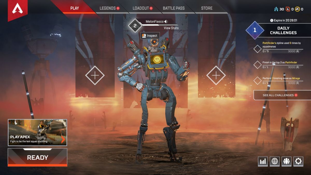 How To Check Your Apex Legends Stats: Wins, K/D