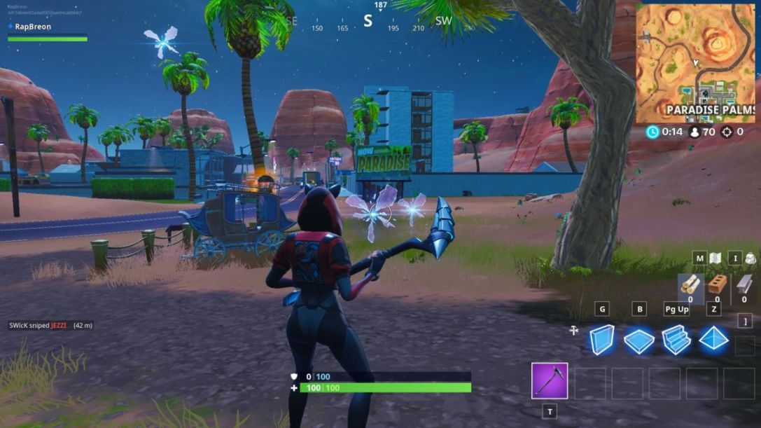 Fortnite Season X Paradise rift
