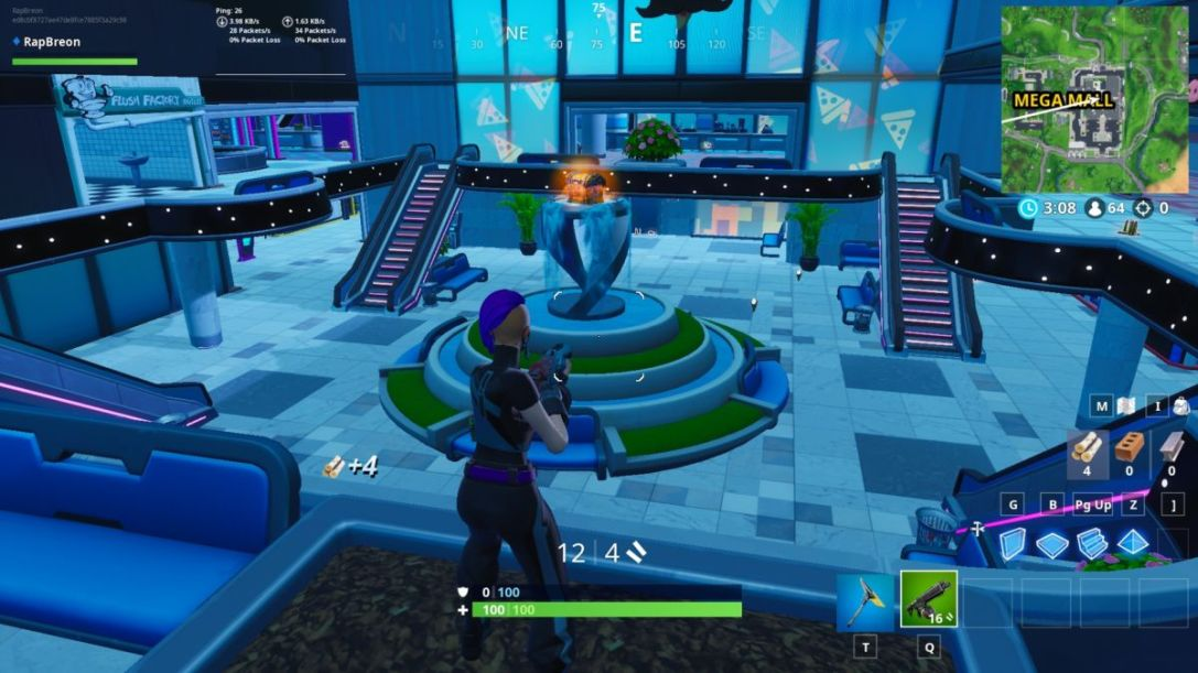 Fortnite Season x fountains