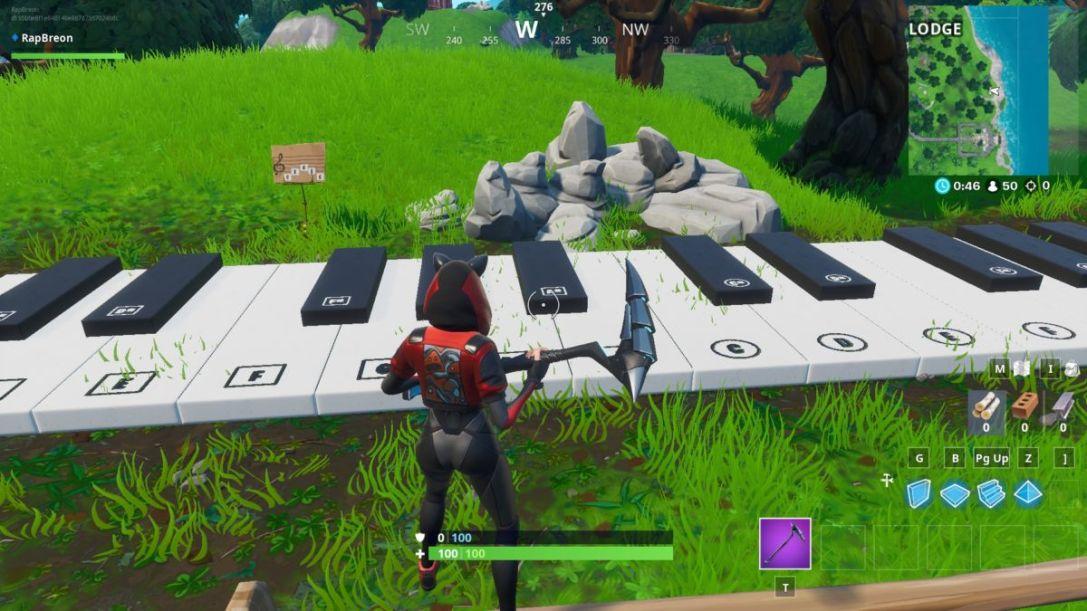 Fortnite Season X Boogie Down: Visit The Oversized Piano
