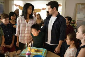 "A MILLION LITTLE THINGS - ""ten years"" - The gang gathers for Theo's 10th birthday, which is also a significant milestone for Eddie. Meanwhile, Delilah, Eddie and Katherine are at an impasse about revealing the truth about Charlie; Rome and Regina try to keep Sophie from getting too close to PJ, and Maggie helps Gary make a difficult decision about his dog, Colin, on a new episode of ""A Million Little Things,"" airing THURSDAY, NOV. 7 (9:01-10:01 p.m. EST), on ABC. (ABC/Jack Rowand) GRACE PARK, TRISTAN BYON, DAVID GIUNTOLI"