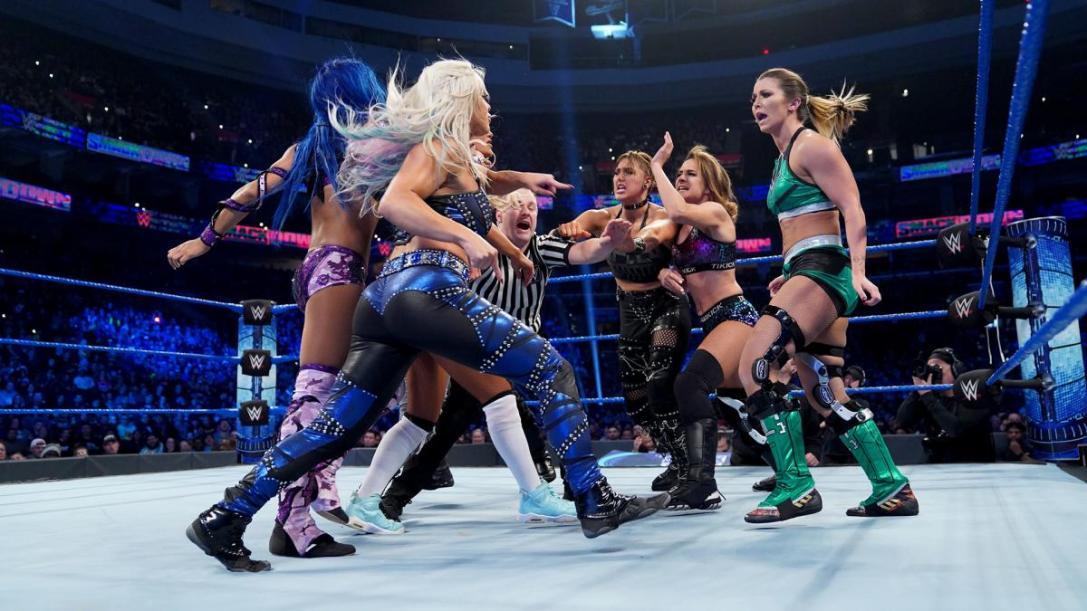 NXT vs SmackDown