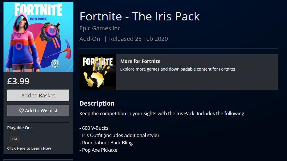 Iris pack