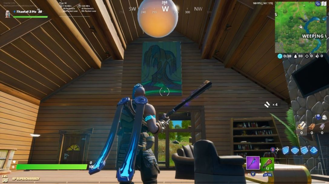 Fortnite gold coin location