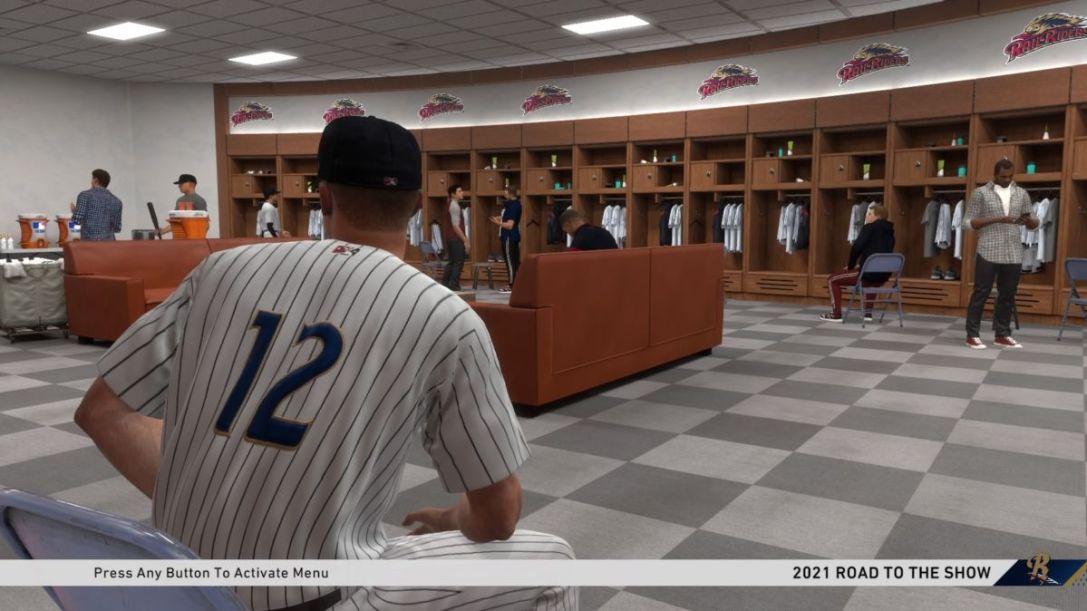 MLB Road to the Show Locker Room