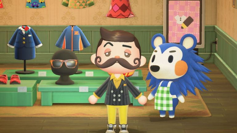 Animal Crossing new Horizons eyebrows