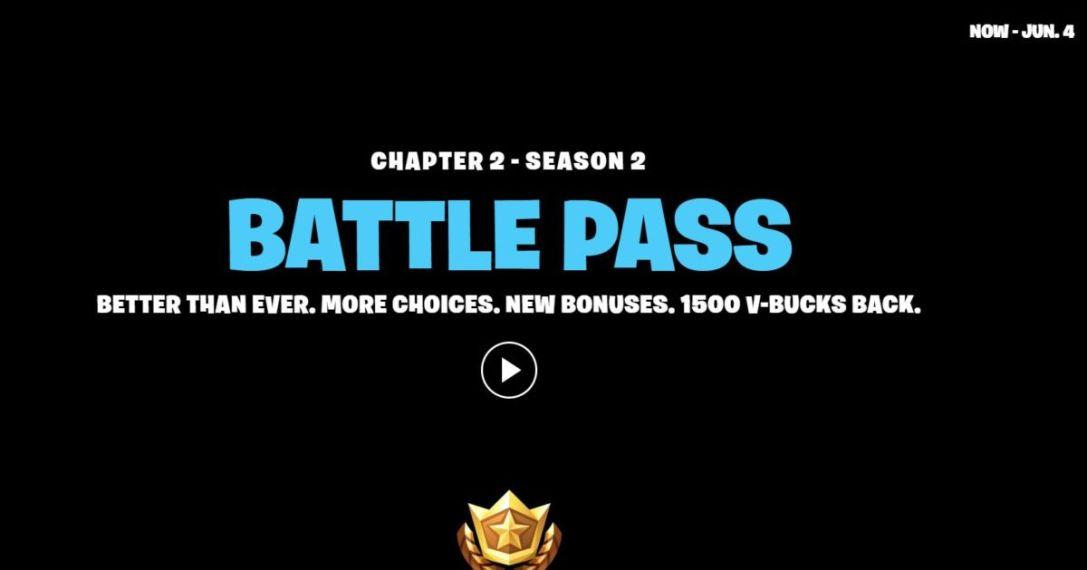 Season 2 new end date Fortnite