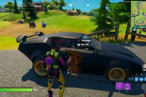 Fortnite Cars