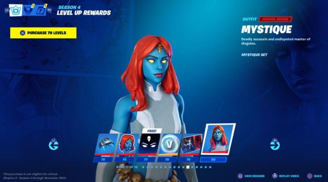 Fortnite Season 4 Battle Pass Skins Iron Man Groot