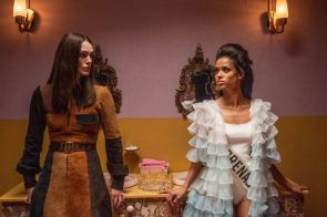Keira Knightley and Gugu Mbatha-Raw in Misbehaviour