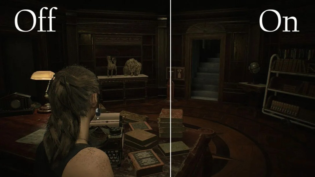 Resident Evil 2 Anisotropic Filtering