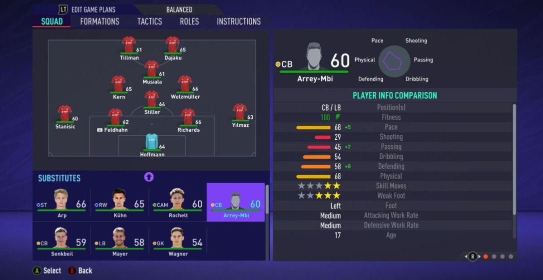 Bright Arrey-Mbi FIFA 21